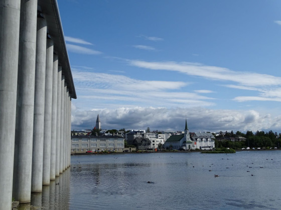 Tag 2 - Reykjavík - Am Tjörnin