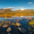 Spiegelung des Vatnajökull