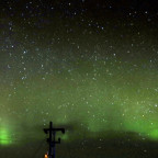 Nordlichter über Steindörstadir