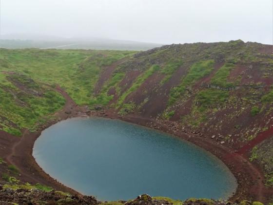 Tag 3.12 - Kerið Kratersee
