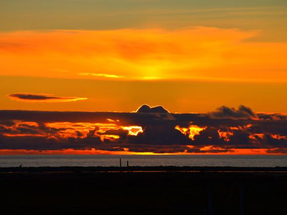 Sonnenuntergang 2017 in den Westfjorden