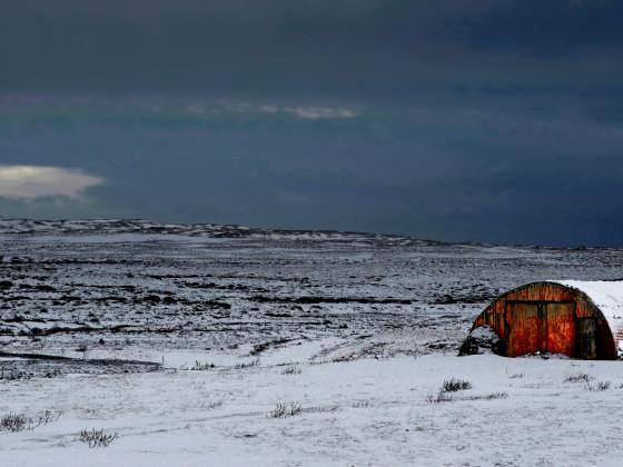 Nissenhütte im Winter